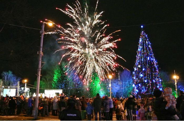 Вологодская область встретила Новый год без серьезных происшествий