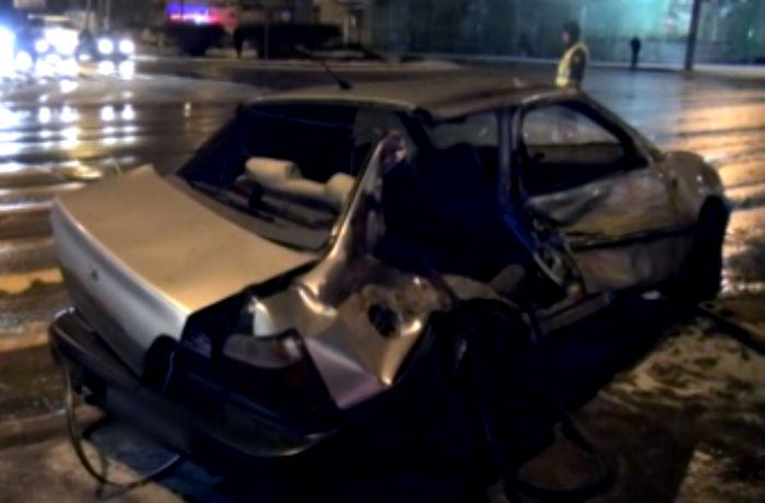В Вологде при столкновении Дэу  и КамАЗ погибла женщина