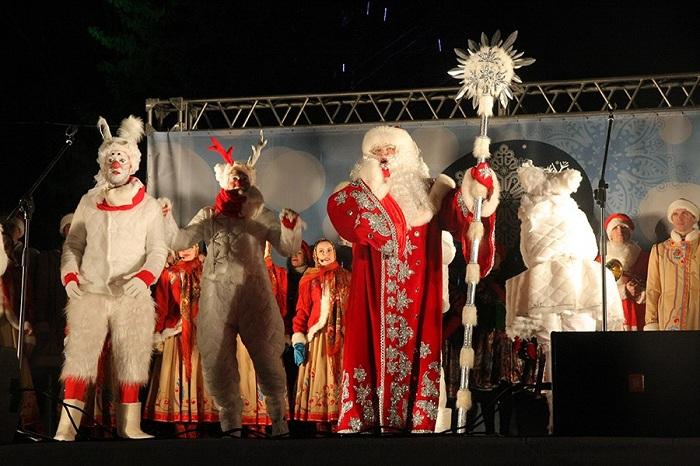 За трансляцией Нового года в Вологде наблюдали 10 тысяч интернет-пользователей