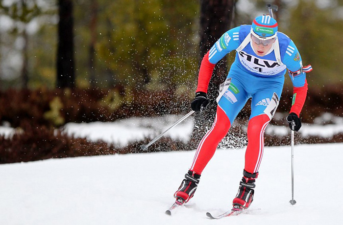 Биатлонист Максим Цветков завоевал бронзовую медаль в Италии