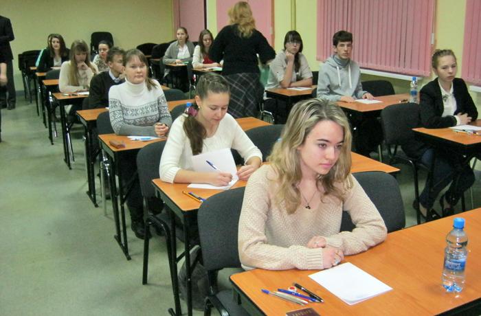 Вологодские школьники соревнуются в знании французского языка