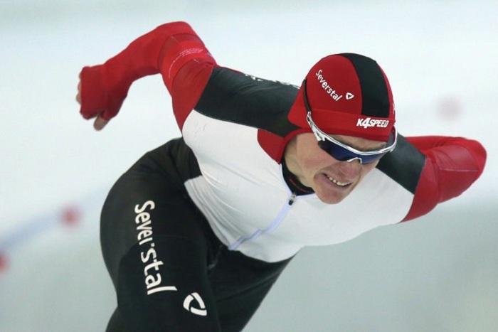Череповецкий конькобежец разделил «золото» с обладателем Кубка мира