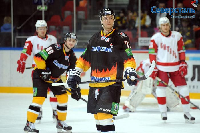 Хоккеисты череповецкой «Северстали» обыграли «Витязя»