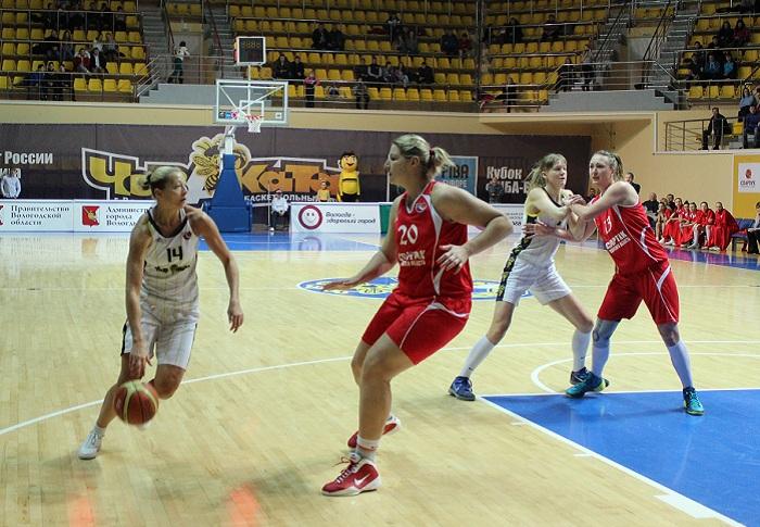 У баскетболистки «Вологда-Чеваката» Людмилы Саповой диагностировали ушиб ноги