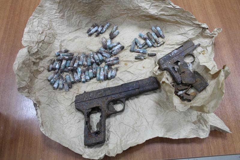 Житель Вологодской области нашел в подвале своего дома арсенал оружия