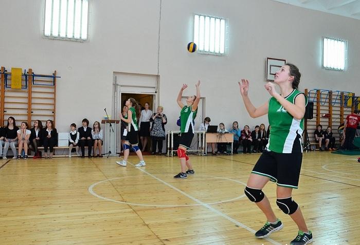 В школе № 26 в Вологде отремонтировали спортзал