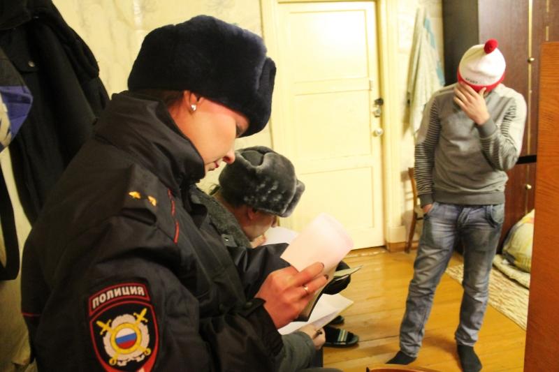 В Вологде полицейские проверили квартиры с иностранцами