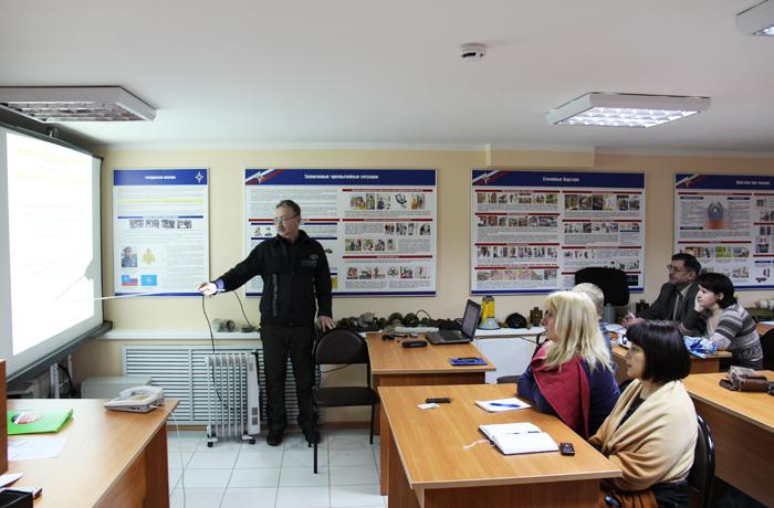 Сотрудники «Вологдаэнерго» прошли обучение по гражданской обороне