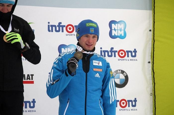 Вологодский биатлонист стал бронзовым призером Чемпионата Европы
