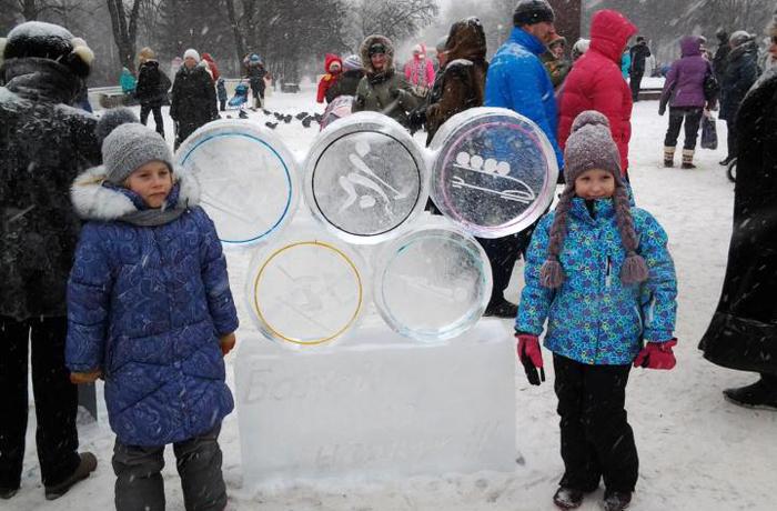 Фестиваль ледяных скульптур прошёл в Череповце
