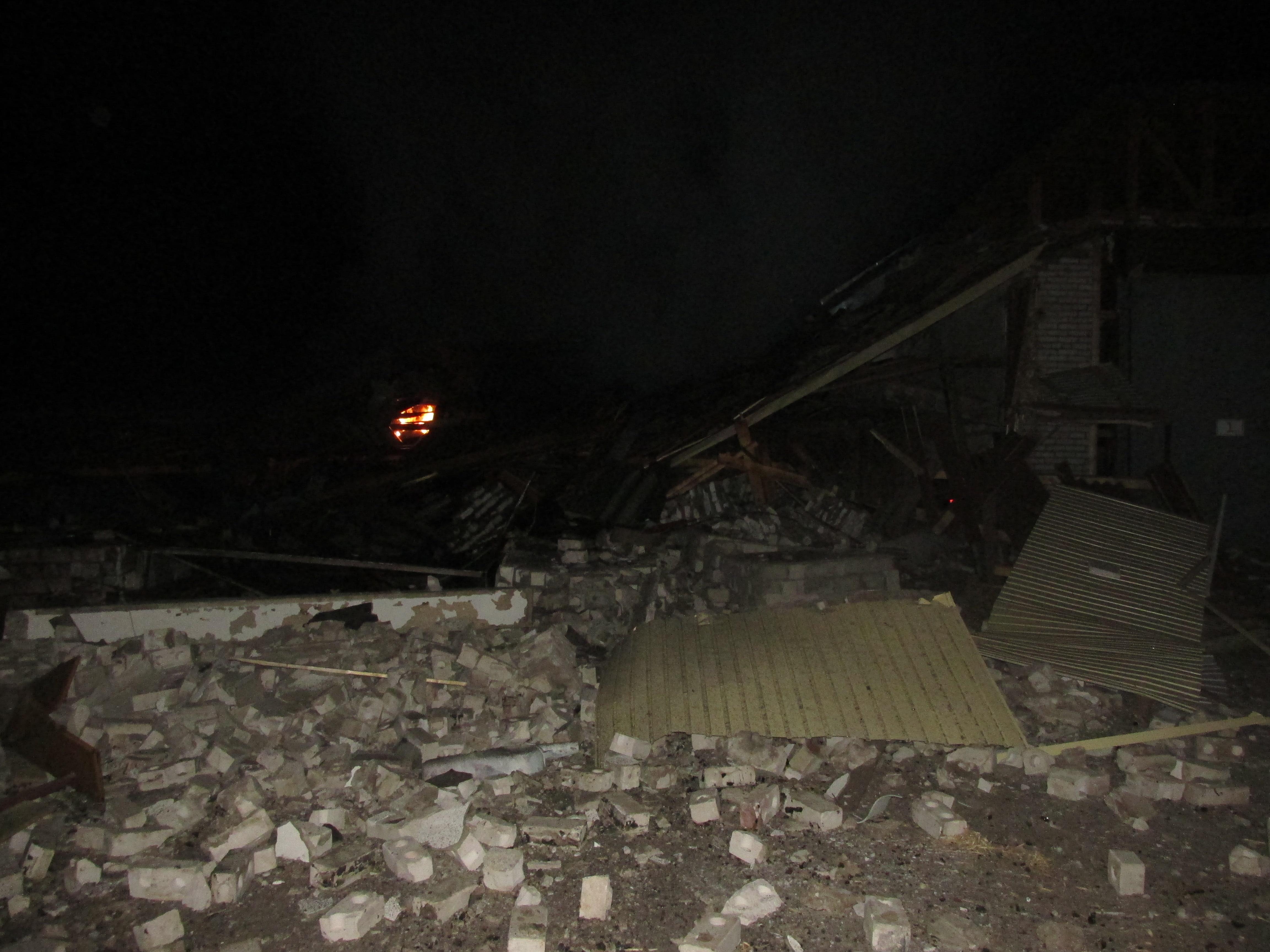 Расследованием взрыва в Чагоде займется межведомственная рабочая группа