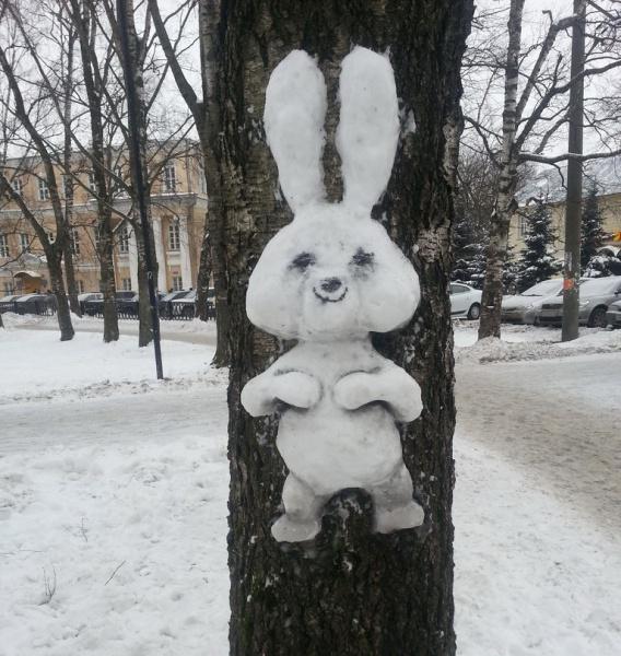 Креатив в Кировском сквере