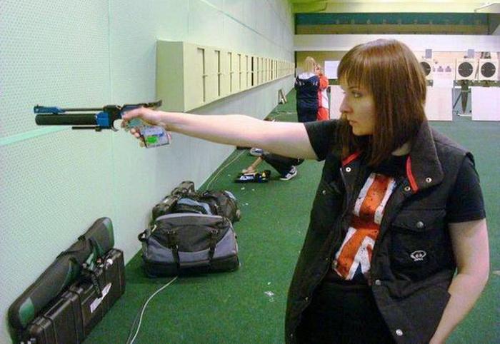 Вологжанка заняла второе место на Чемпионате России по стрельбе из пневматического пистолета
