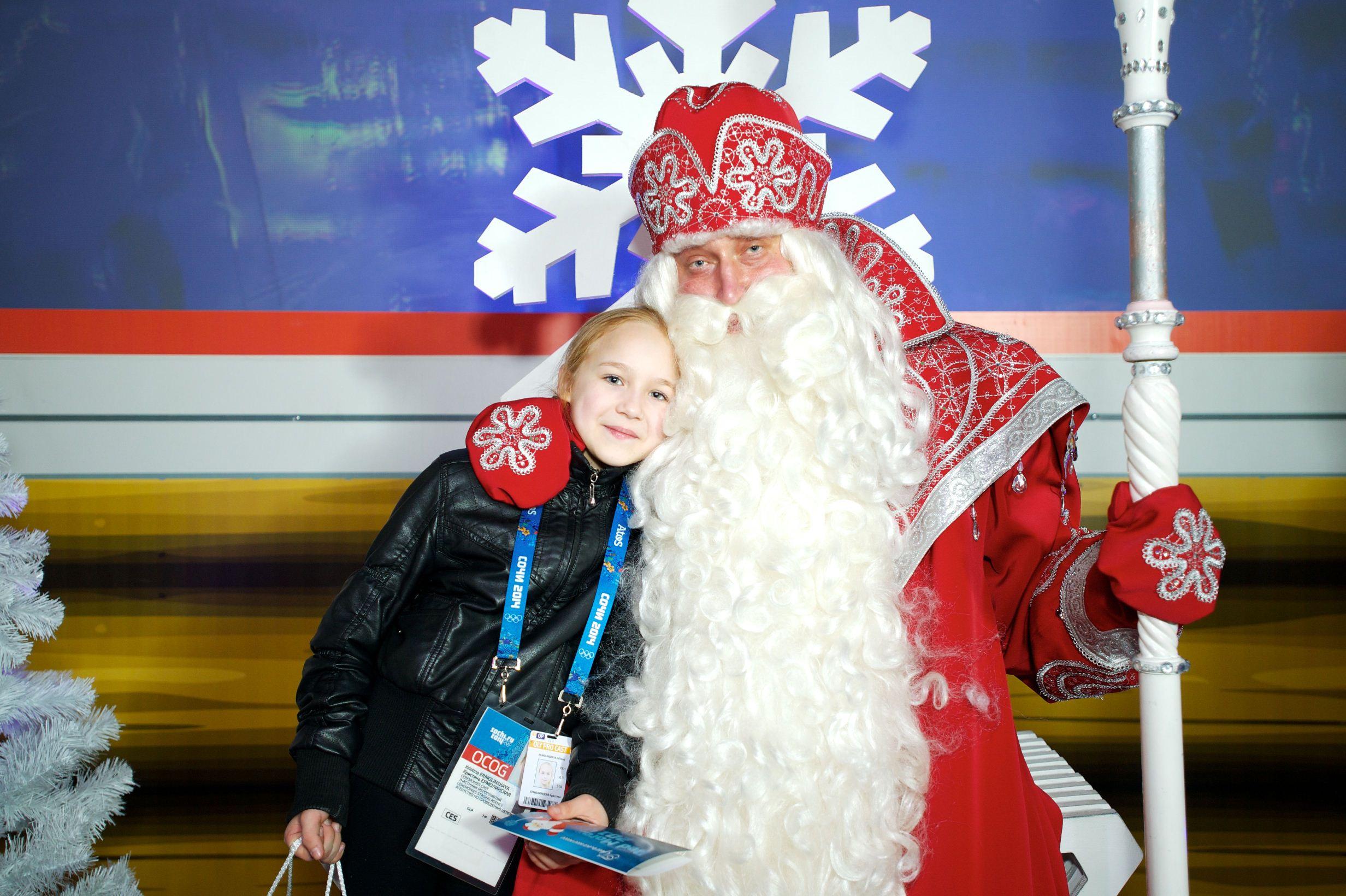 Вологодская школьница, открывавшая Олимпиаду, попросила у Деда Мороза лыжи