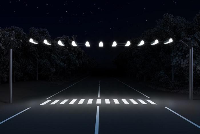 В Вологде нерегулируемые пешеходные переходы будут освещаться ночью