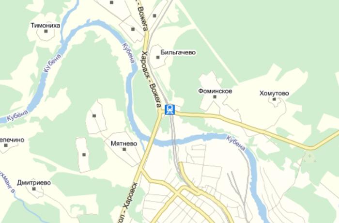 В Вологодской области ремонтируют мост через Кубену