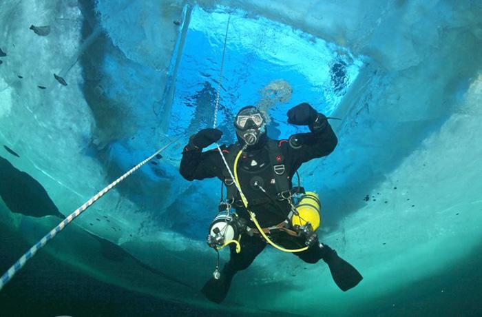 Череповецкий  дайвер намерен установить мировой рекорд