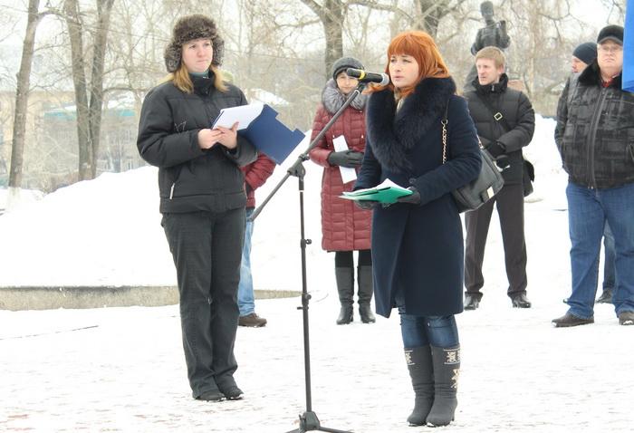 В Вологде прошел митинг против строительства ЦБК в Череповецком районе