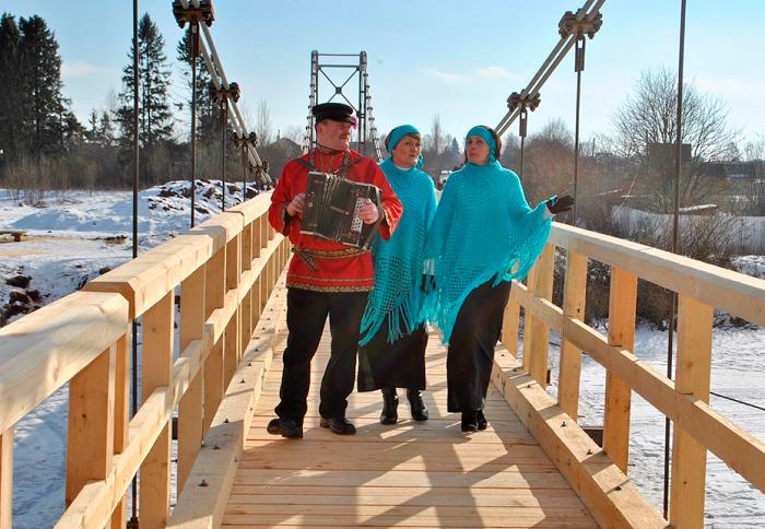 Новый мост появился на реке Тошня в Вологодском районе