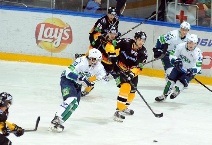 Хоккеисты «Северстали» обыграли соперников из «Югры»