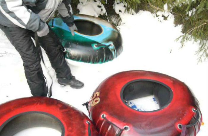 Молодой человек погиб в Вологодской области, катаясь на ватрушке