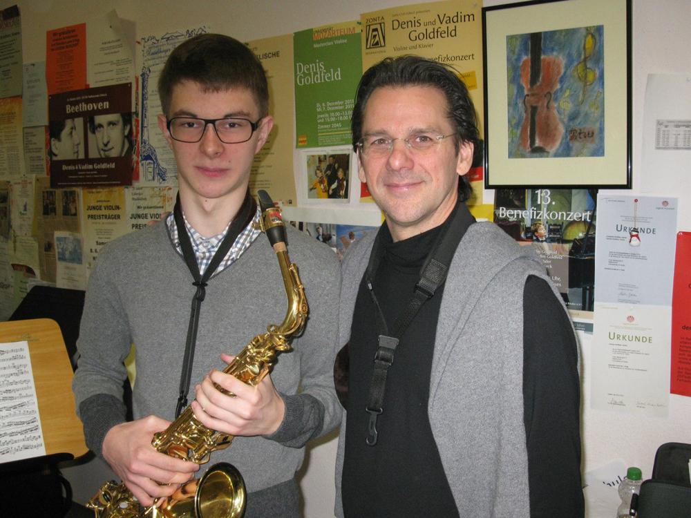 16-летний саксофонист из Вологды стал победителем международного конкурса