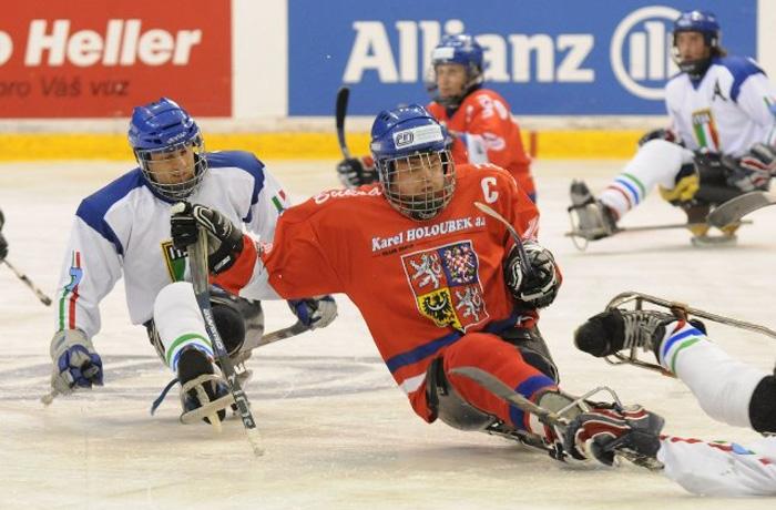 В Череповце хотят создать команду по следж-хоккею