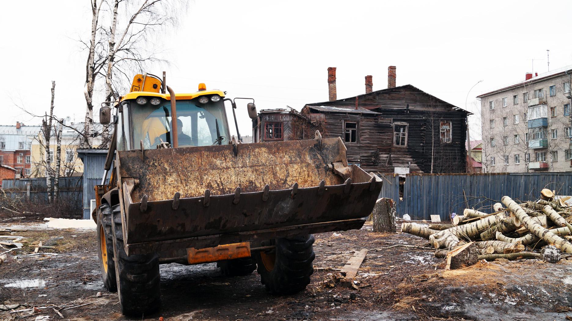 По факту сноса исторического дома в центре Вологды возбуждено административное дело