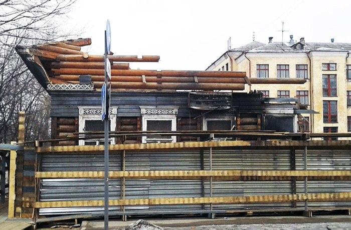 По факту сноса дома на Воровского в Вологде возбуждено уголовное дело
