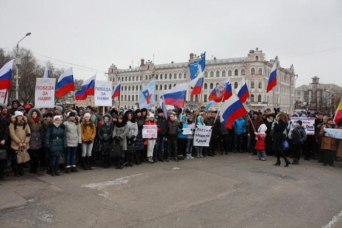 Студентам Вологодского педагогического университета сказали, что пойти на митинг - их долг