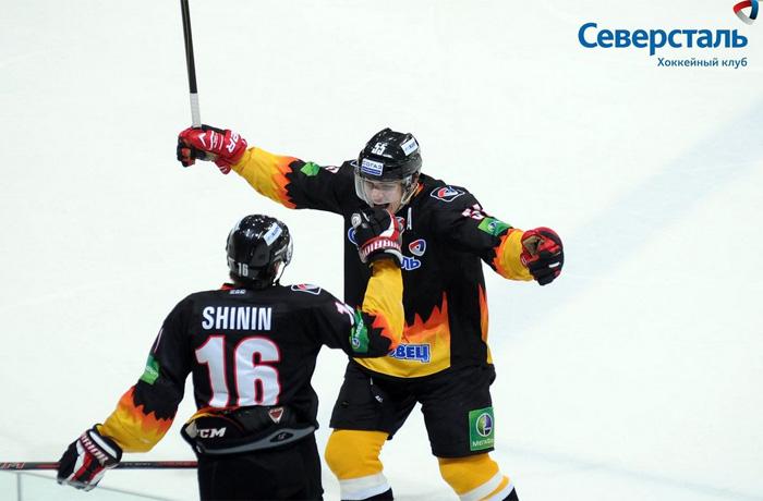 Хоккеисты «Северстали» вышли в полуфинал Кубка Надежды