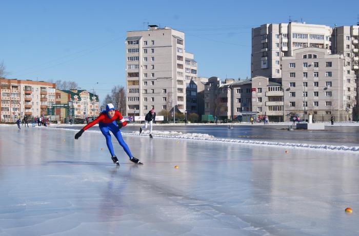 В Вологде ледовую дорожку закрывают на лето