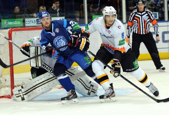 Хоккеисты «Северстали» проиграли минскому «Динамо»