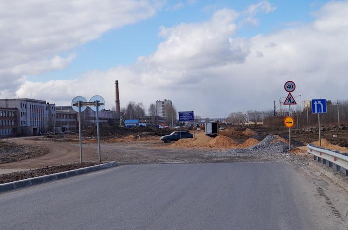 В Вологде делают проезд от путепровода до улицы Залинейной