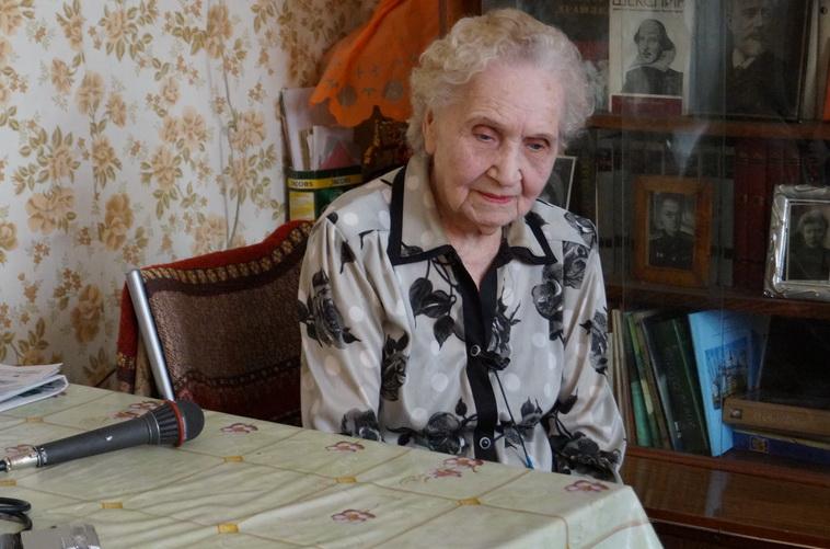 К вековому юбилею готовится вологжанка Мария Калинина
