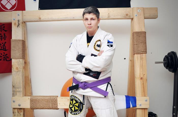 Елена Зенкевич из Вологды стала Чемпионкой России по грепплингу