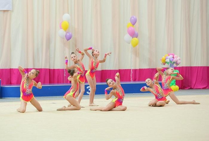 Вологжанки заняли второе место на Чемпионате России по эстетической гимнастике