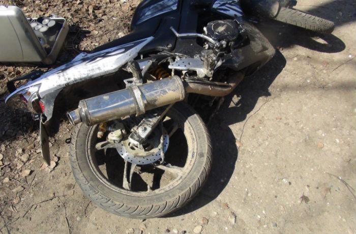 Мотоциклист разбился в ДТП в Вологде