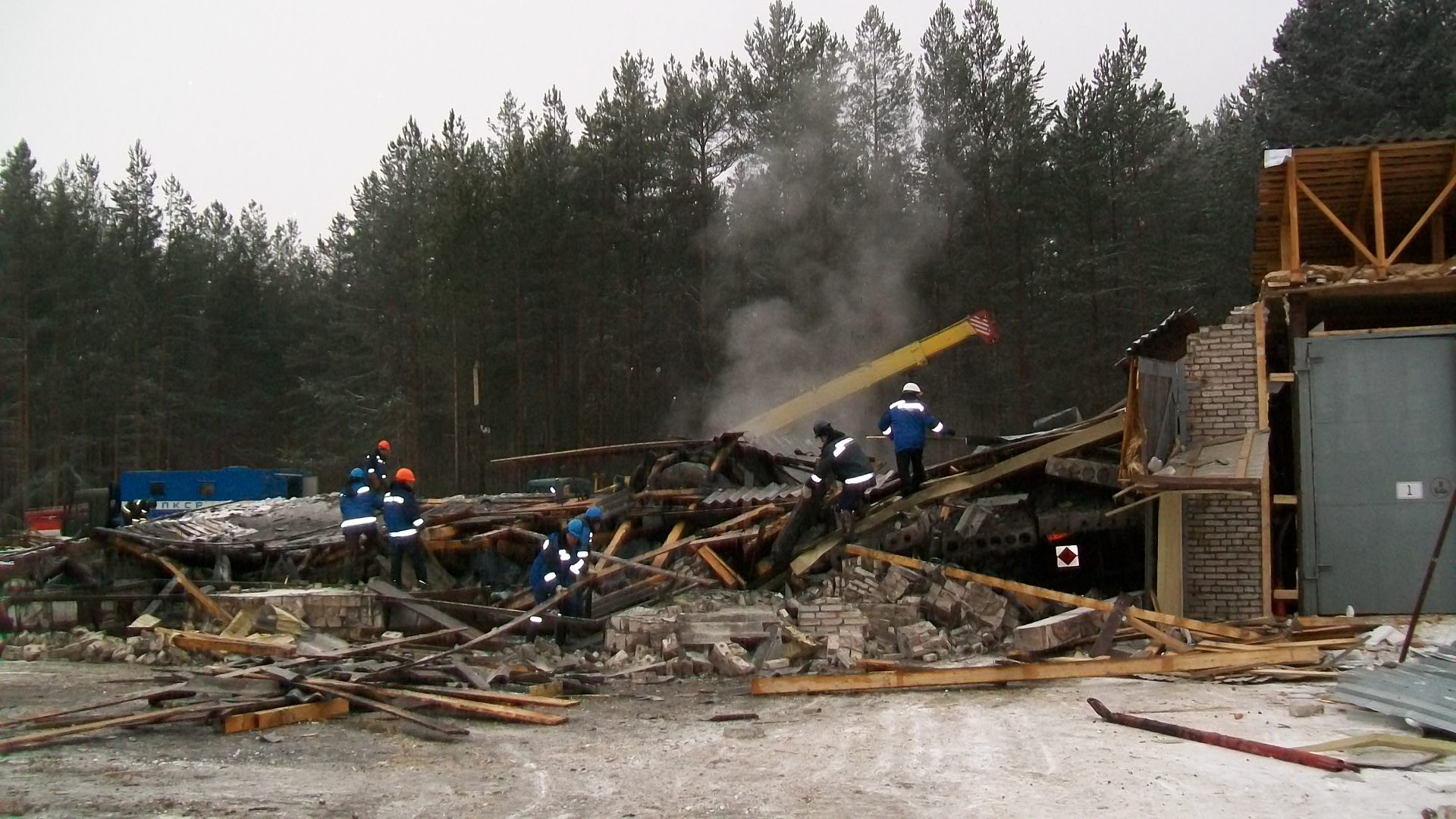 Названы причины взрыва на газораспределительной станции в Вологодской области