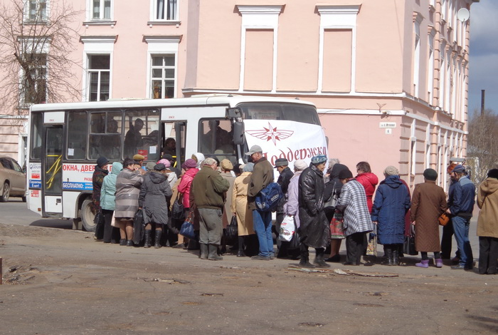 В Вологде пенсионерам бесплатно выдают проездные на май