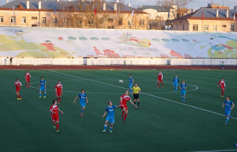 Футбольный клуб «Вологда» разгромил «Зенит-2»