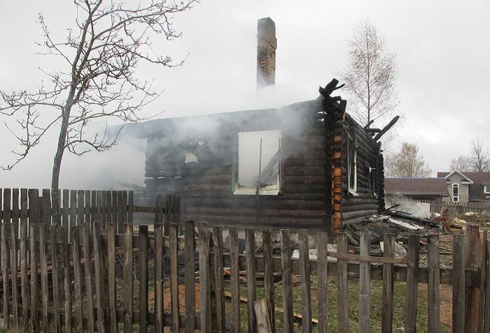 Причиной смерти ребенка в пожаре в Вологодской области стало пьянство родителей