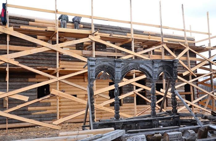 Реставрация вологодского «Дома кружевниц» подходит к концу