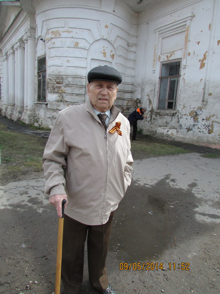 Парад Бессмертного полка в селе Кубенское