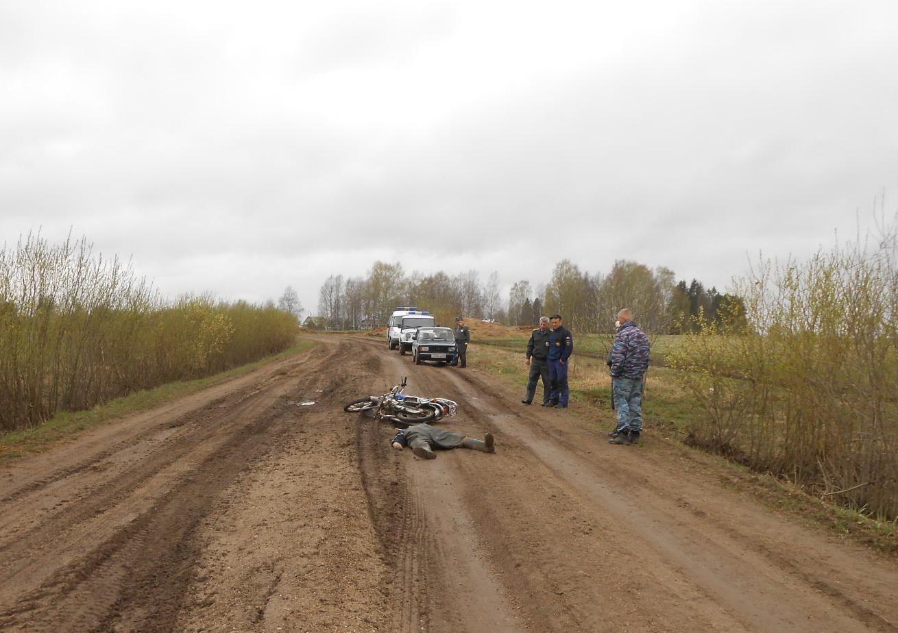 Погибший пассажир и водитель мопеда в Кирилловском районе были пьяны