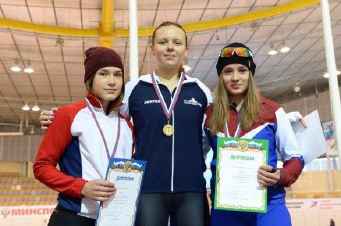Вологжанка Ксения Волохова вошла в состав сборной России по конькобежному спорту