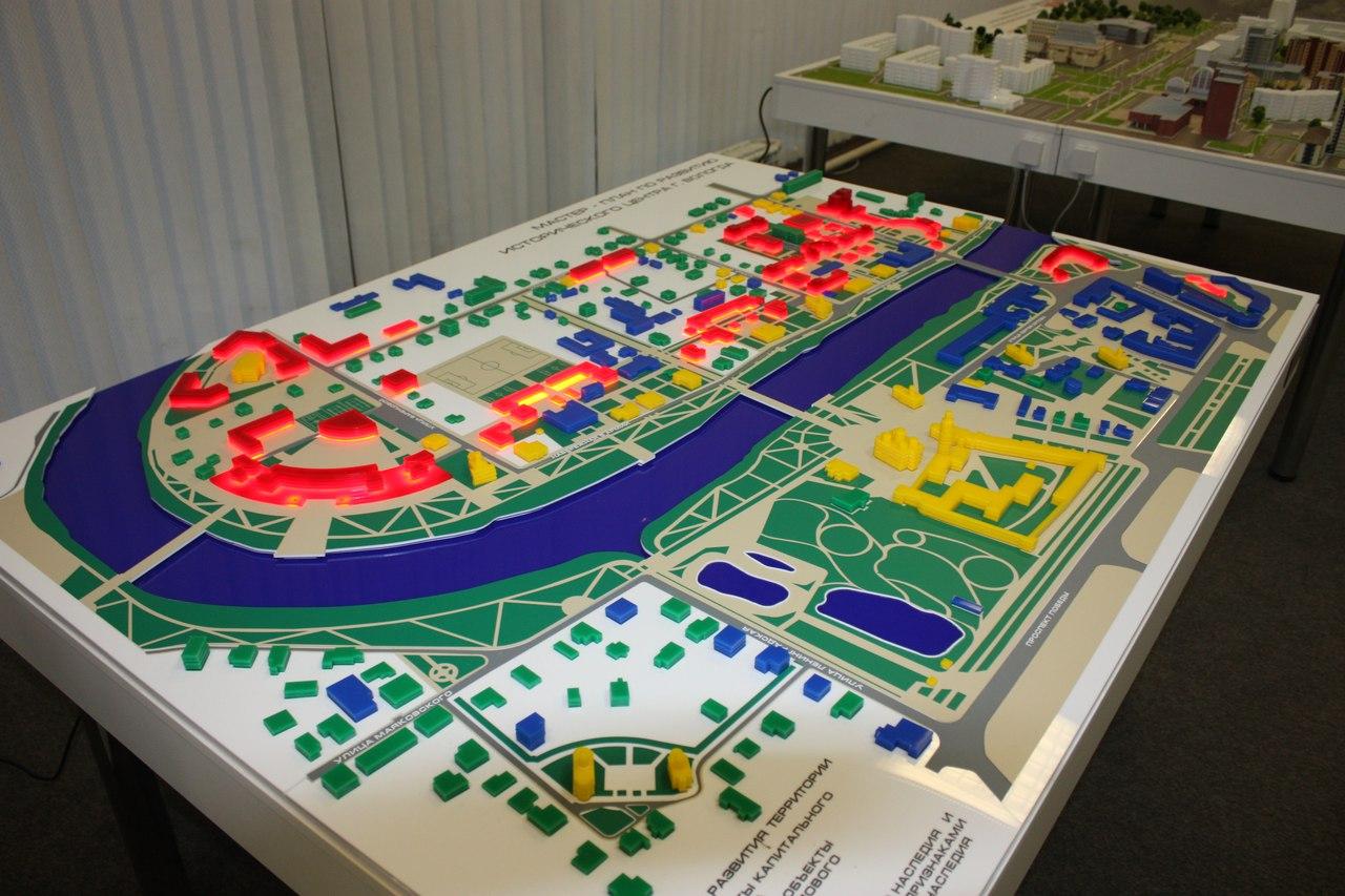 Комитет по охране памятников раскритиковал макет развития исторической Вологды