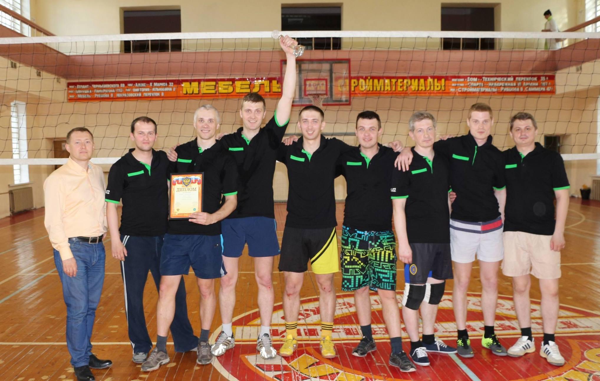 Tele2 заняла первое место в турнире по волейболу среди компаний, работающих в области связи