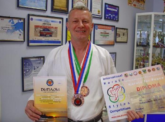 Череповецкий ветеран каратэ отправится на Чемпионат Европы