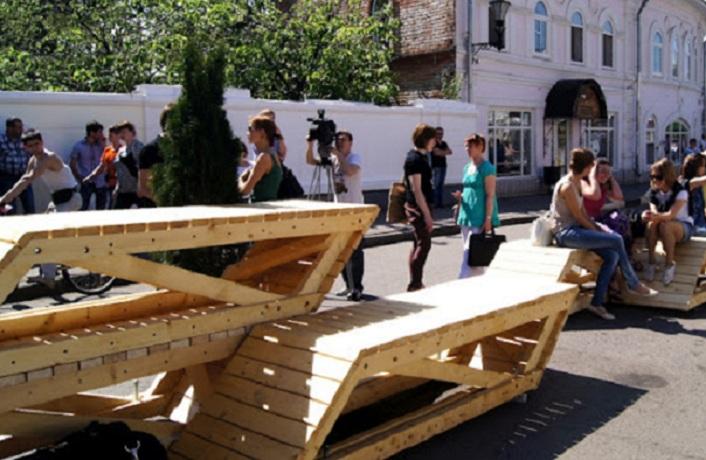 Около 400 скамеек установят в Вологде